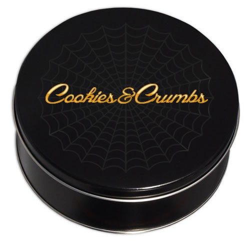 Deliciously Spooky Cookie Tin