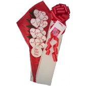 Heartbeats Cookie Bouquet